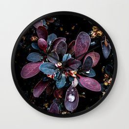 Barberry Adorned Wall Clock