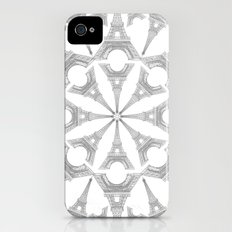 Paris in a Kaleidoscope iPhone (4, 4s) Slim Case