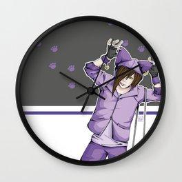 Neko~ Wall Clock