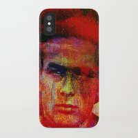 james franco iPhone & iPod Cases featuring James  by Joe Ganech