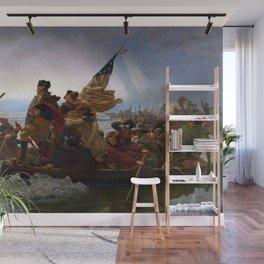 Emanuel Leutze - Washington Crossing the Delaware Wall Mural
