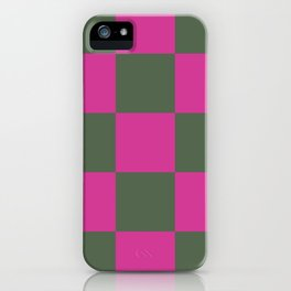 Pretty Chessboard Leana iPhone Case