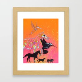 Caravan of Wonder Framed Art Print