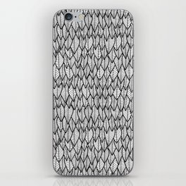 Feathers really close up! iPhone Skin