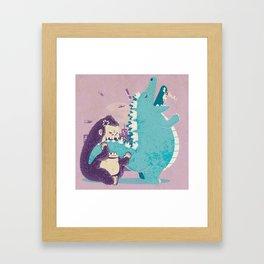 Threat Framed Art Print