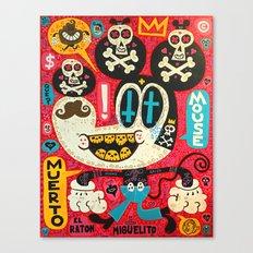 Muerto Mouse 2! Canvas Print