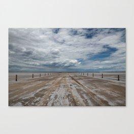 Salt Roads Canvas Print
