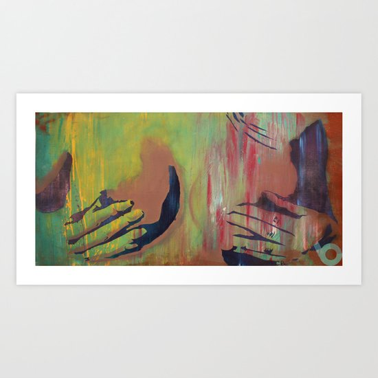 Afternoon delight Art Print