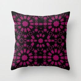 Gothic Arabesque Throw Pillow