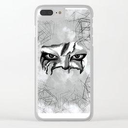 mirada 1 Clear iPhone Case
