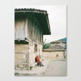 Lone Villager Canvas Print