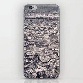Aerial B&W iPhone Skin