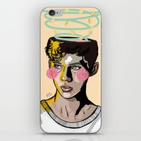into the wild iPhone & iPod Skins featuring WILD by FoxyFries