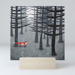 The Fox and the Forest Mini Art Print
