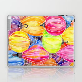 Vietnamese Rainbow Lanterns Laptop & iPad Skin