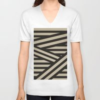 decal V-neck T-shirts featuring Bandage by Charlene McCoy