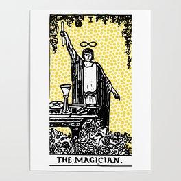 Modern Tarot - 1 The Magician Poster