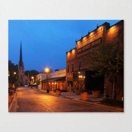 Trinity Street Morning Canvas Print