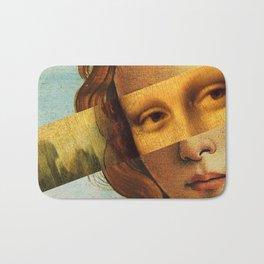 Botticelli's Venus and Mona Lisa Bath Mat