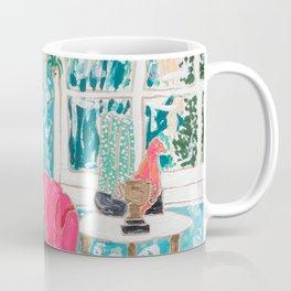 Pink Tub Chair Coffee Mug