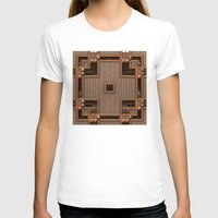 copper T-shirts featuring Copper Cross by Lyle Hatch