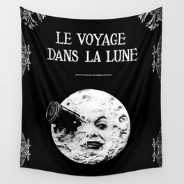 A Trip To The Moon Georges Méliès Wall Tapestry