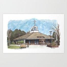 St. James Church, Davis Art Print