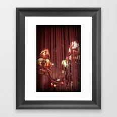 Torn and Frayed Framed Art Print