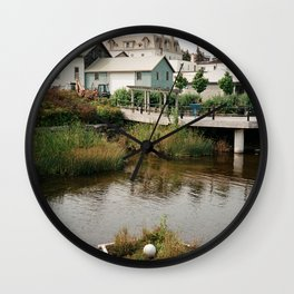Water Walkway Wall Clock