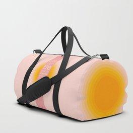 Spend Oneself - Sarah Berndhart Quote Duffle Bag