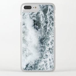 Crashing Clear iPhone Case