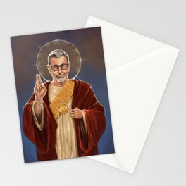 Saint Jeff of Goldblum Stationery Cards