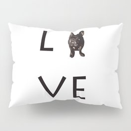 French Bulldog Love Art Print Pillow Sham