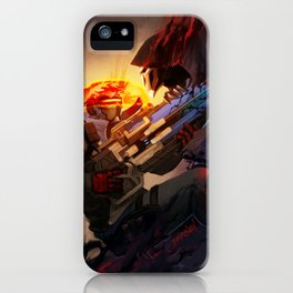 Battle from sights iPhone Case