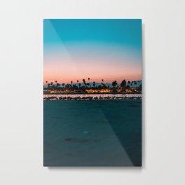 Santa Barbara, USA #society6 #decor #buyart Metal Print