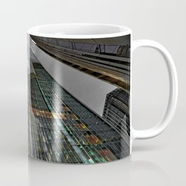 Photo England Bottom view Skyscrapers Cities Building Houses Coffee Mug