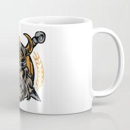 Viking Odin   Raven God Warrior Coffee Mug