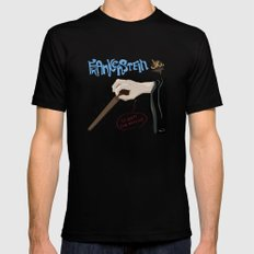 Young Frankenstein Black MEDIUM Mens Fitted Tee