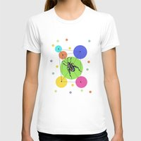 bug T-shirts featuring bug by mark ashkenazi