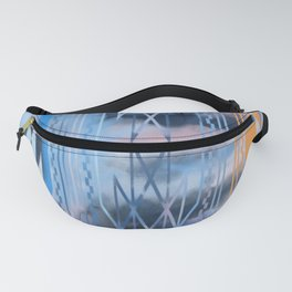 Blue Tribal No.2 Fanny Pack
