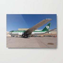 Iraqi Airways 767-200 Metal Print