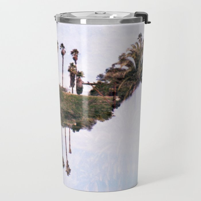 Landscapes c2 (35mm Double Exposure) Travel Mug