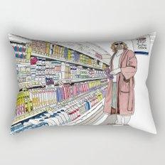 Jeffrey Lebowski and Milk. Rectangular Pillow