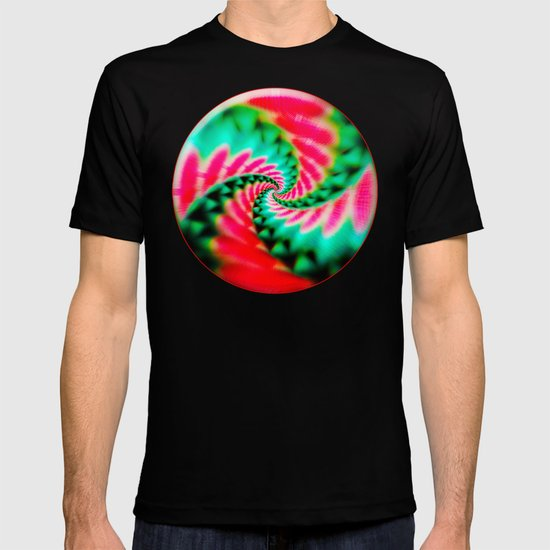 Cosmic Watermelon Swirl T-shirt