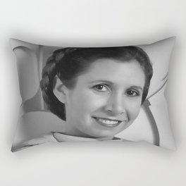 Princess Leia Portrait Rectangular Pillow