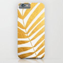 Golden leaf X iPhone Case
