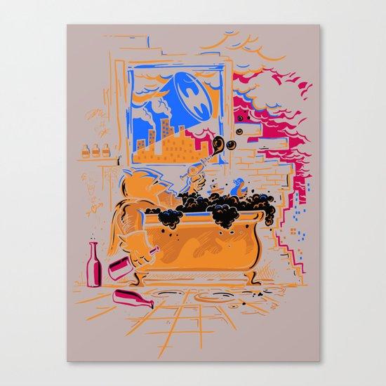 Midnight Crisis Canvas Print