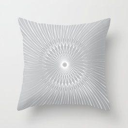 Mandala, Bicycle Wires 9 Throw Pillow