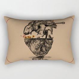Butterfly Heart Rectangular Pillow
