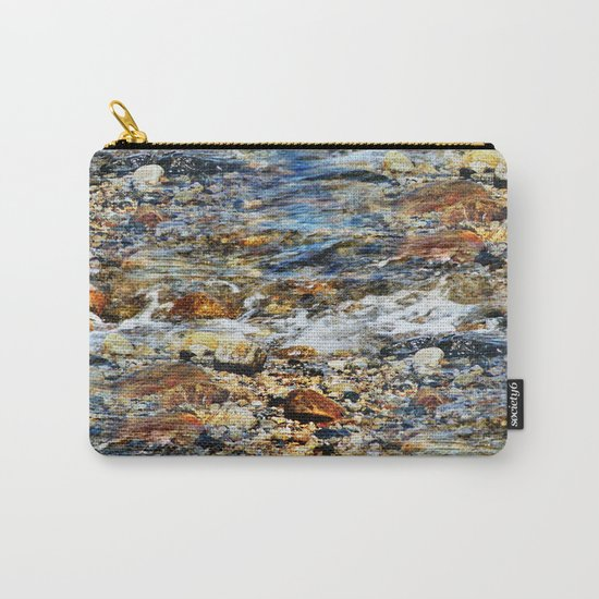 Peaceful Soothing Waters Carry-All Pouch